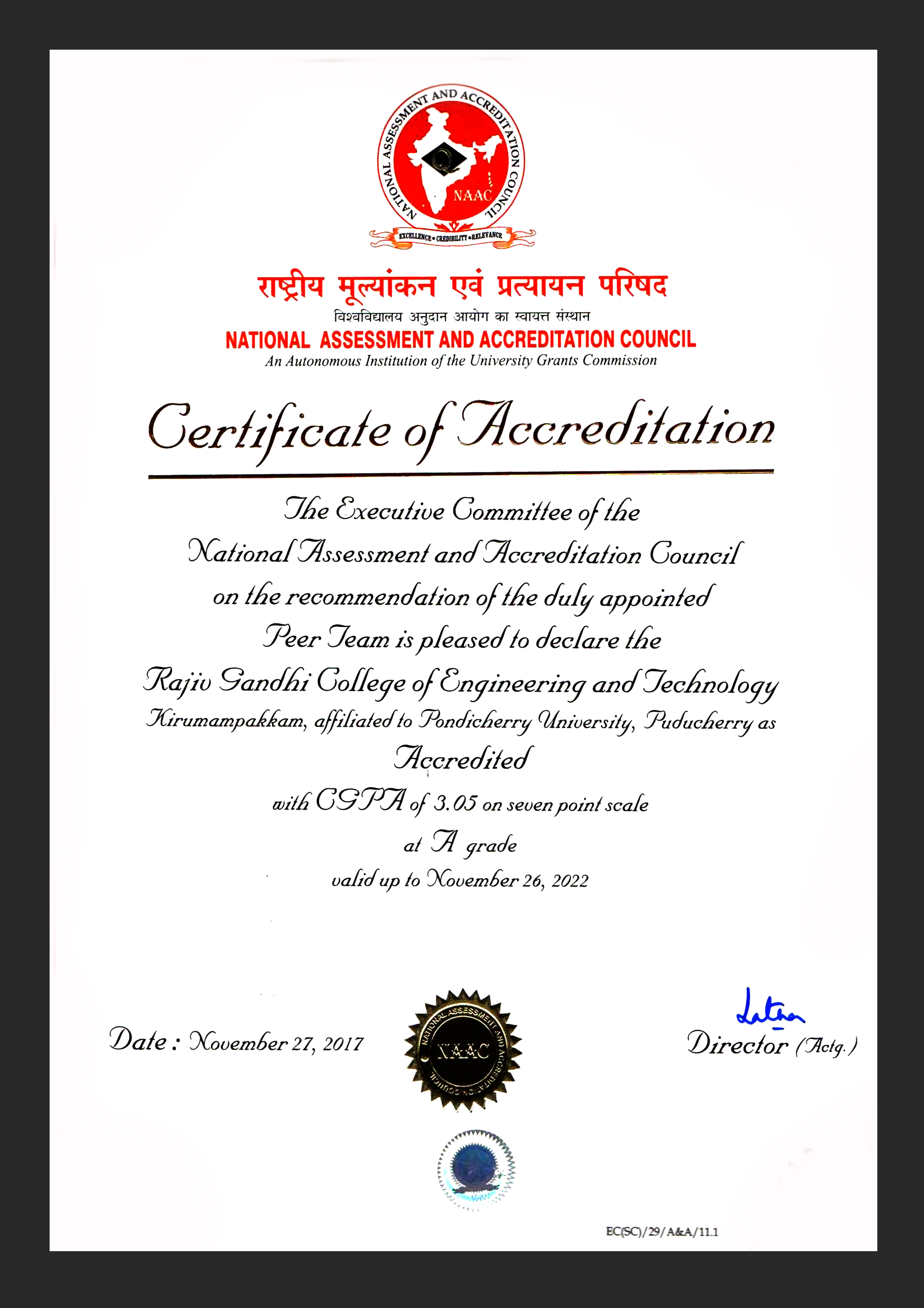 naac ssr manual for affiliated colleges